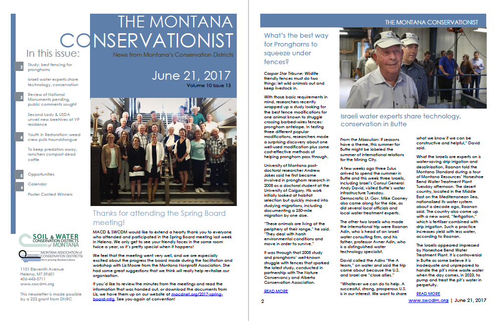 The Montana Conservationist June 21