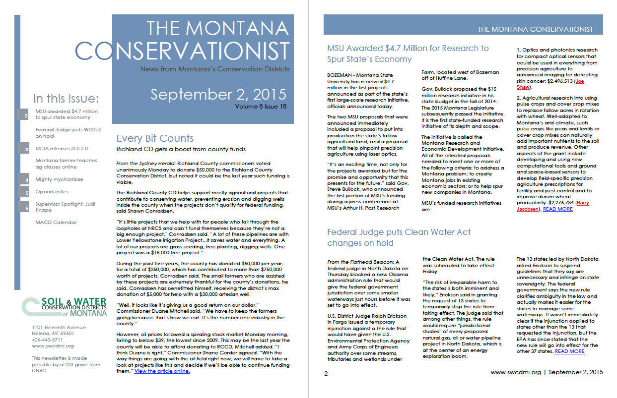 The Montana Conservationist, September 2