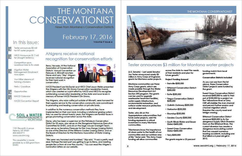 The Montana Conservationist V9 I4