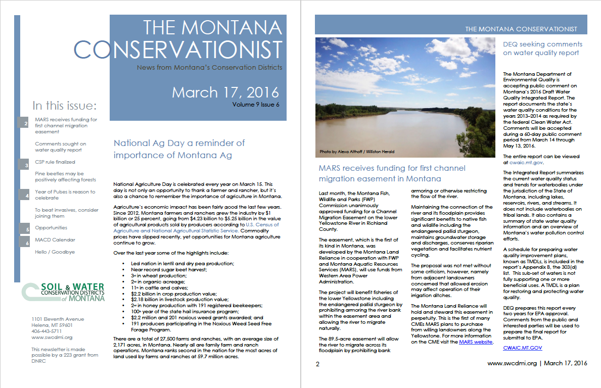 The Montana Conservationist March 17