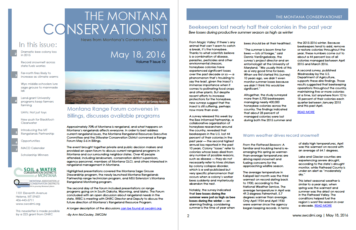The Montana Conservationist May 18