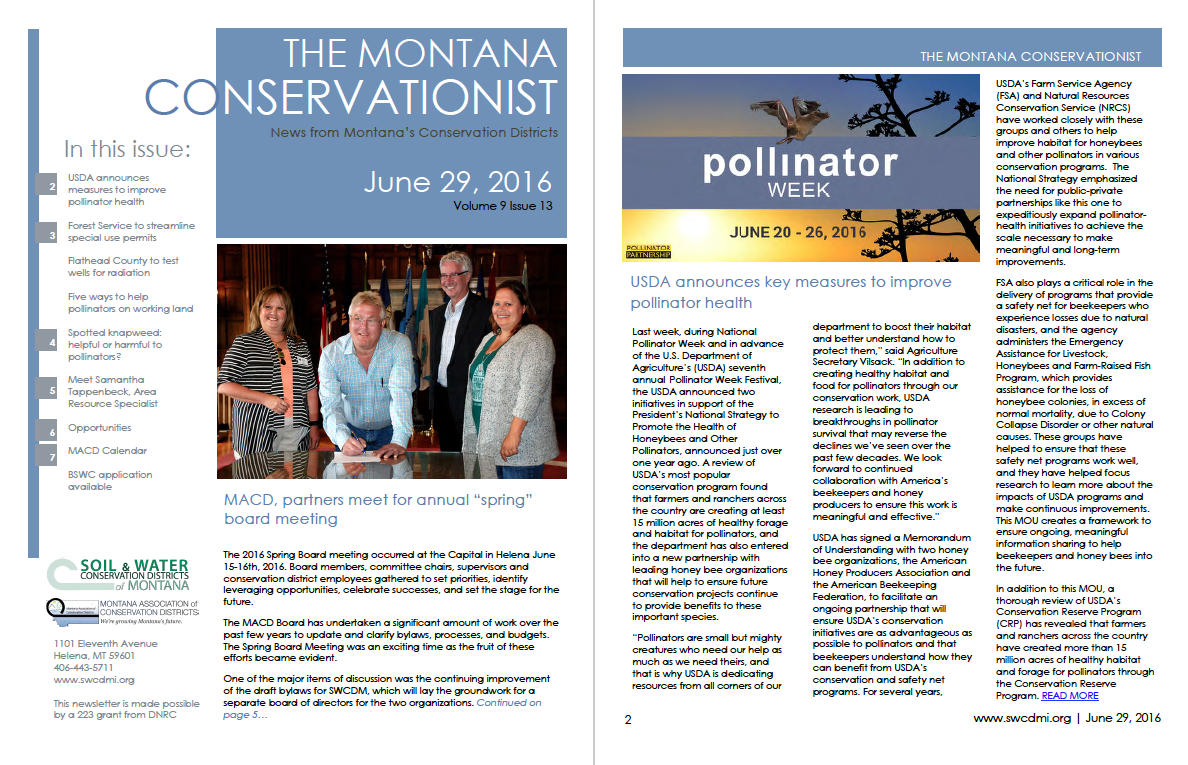 The Montana Conservationist June 29