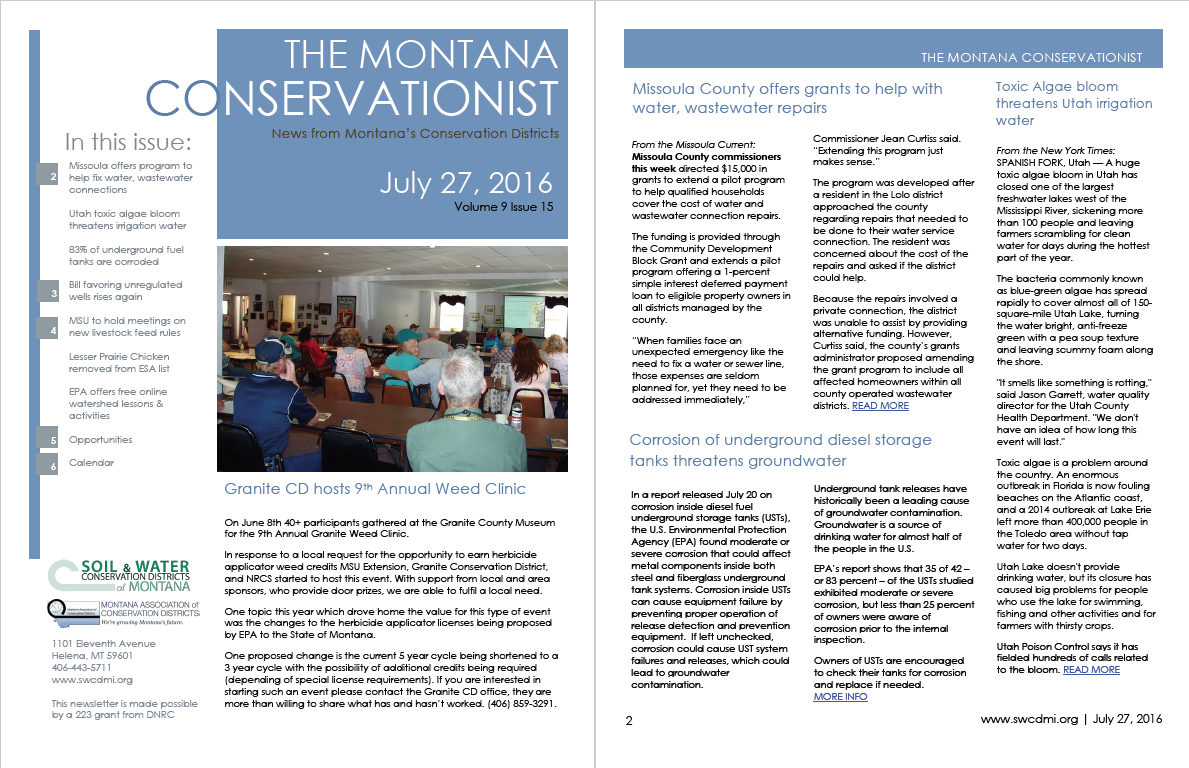 The Montana Conservationist July 27