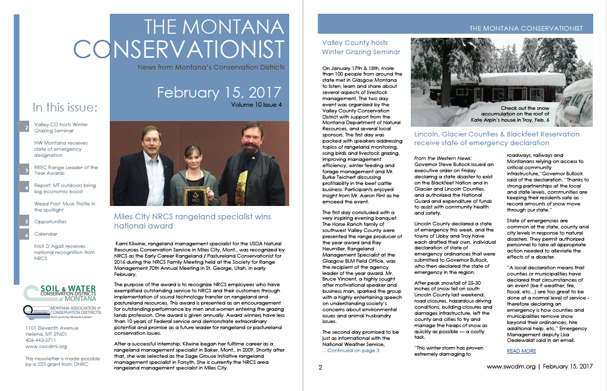 The Montana Conservationist February 15
