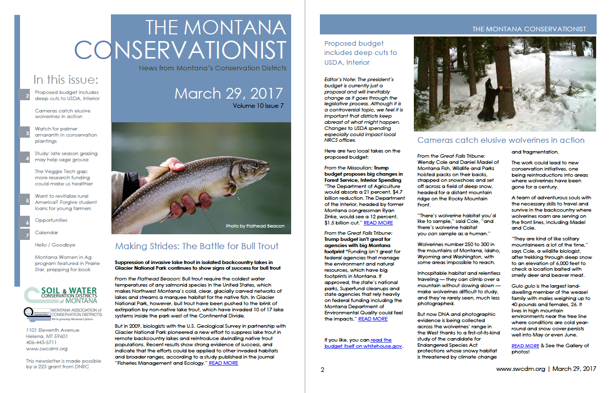 The Montana Conservationist March 29