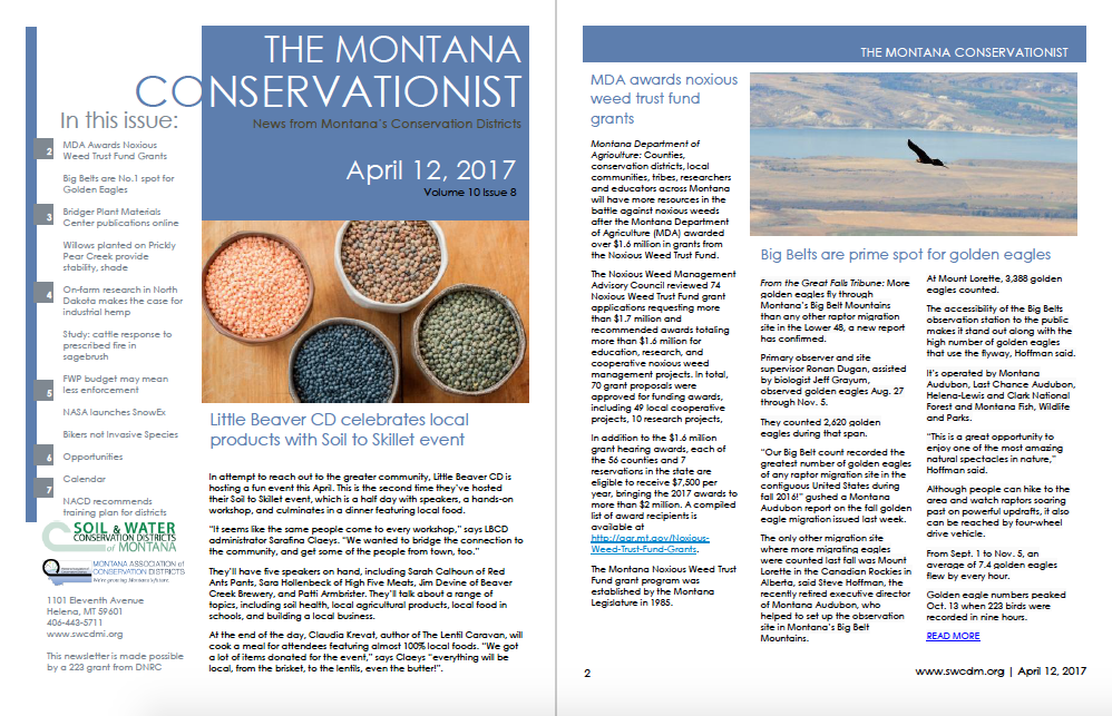The Montana Conservationist April 12