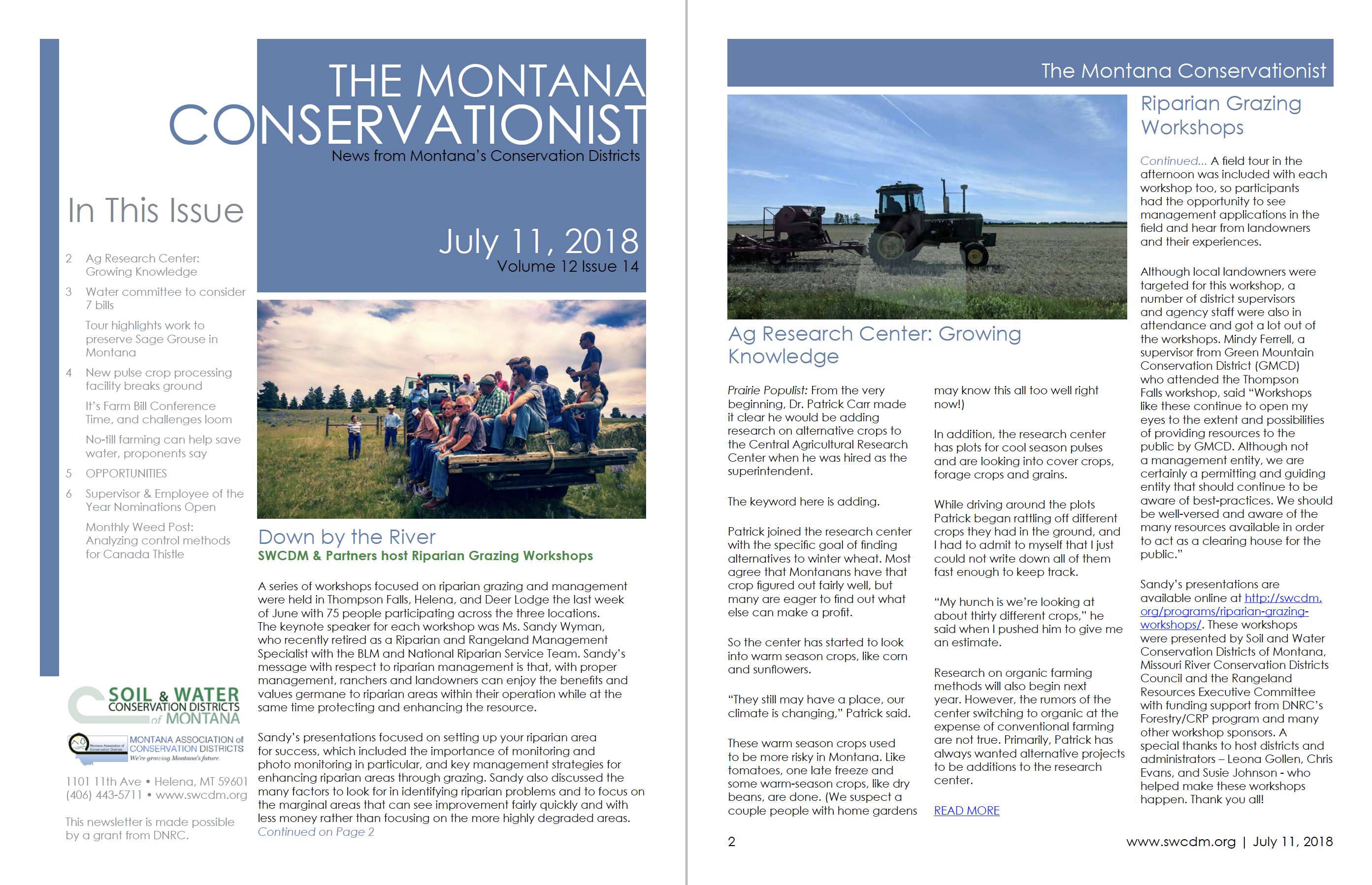 The Montana Conservationist July 11