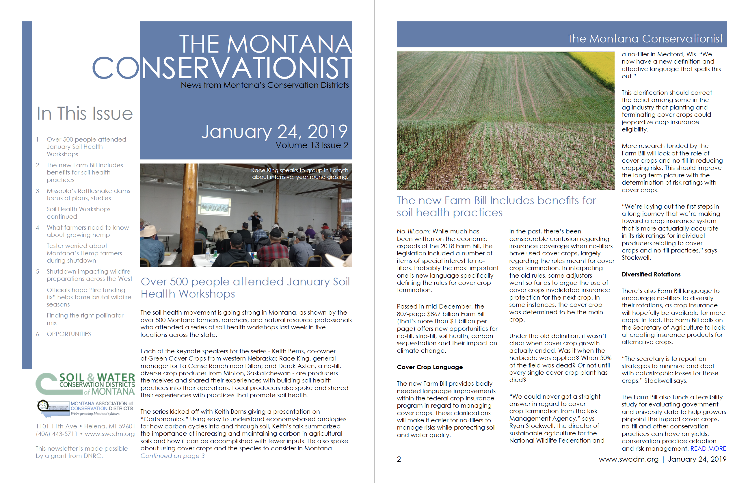 The Montana Conservationist January 24