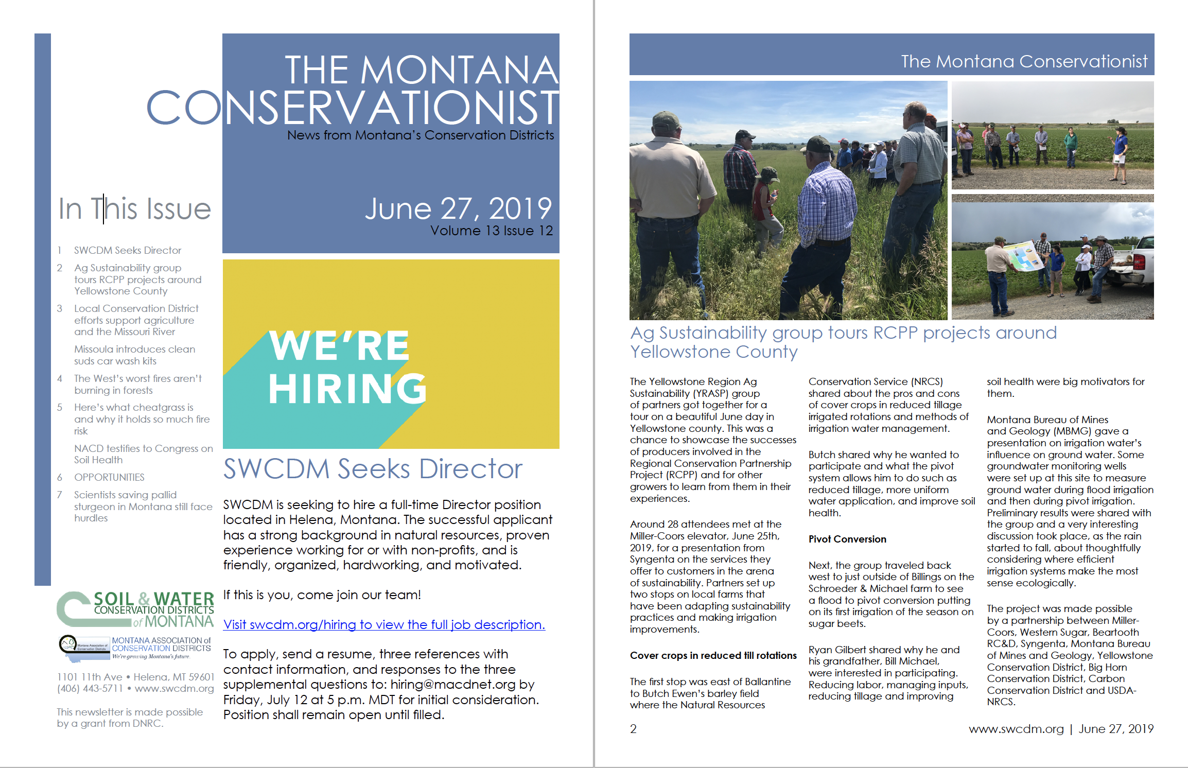 The Montana Conservationist, June 27